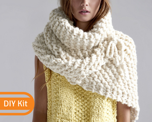 Loopy Mango DIY shawl kit