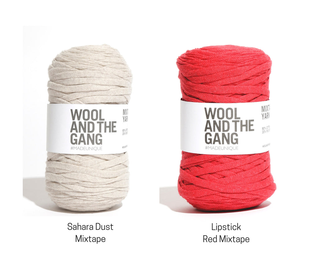 Wool And The Gang Mixtape Jersey Yarn colours