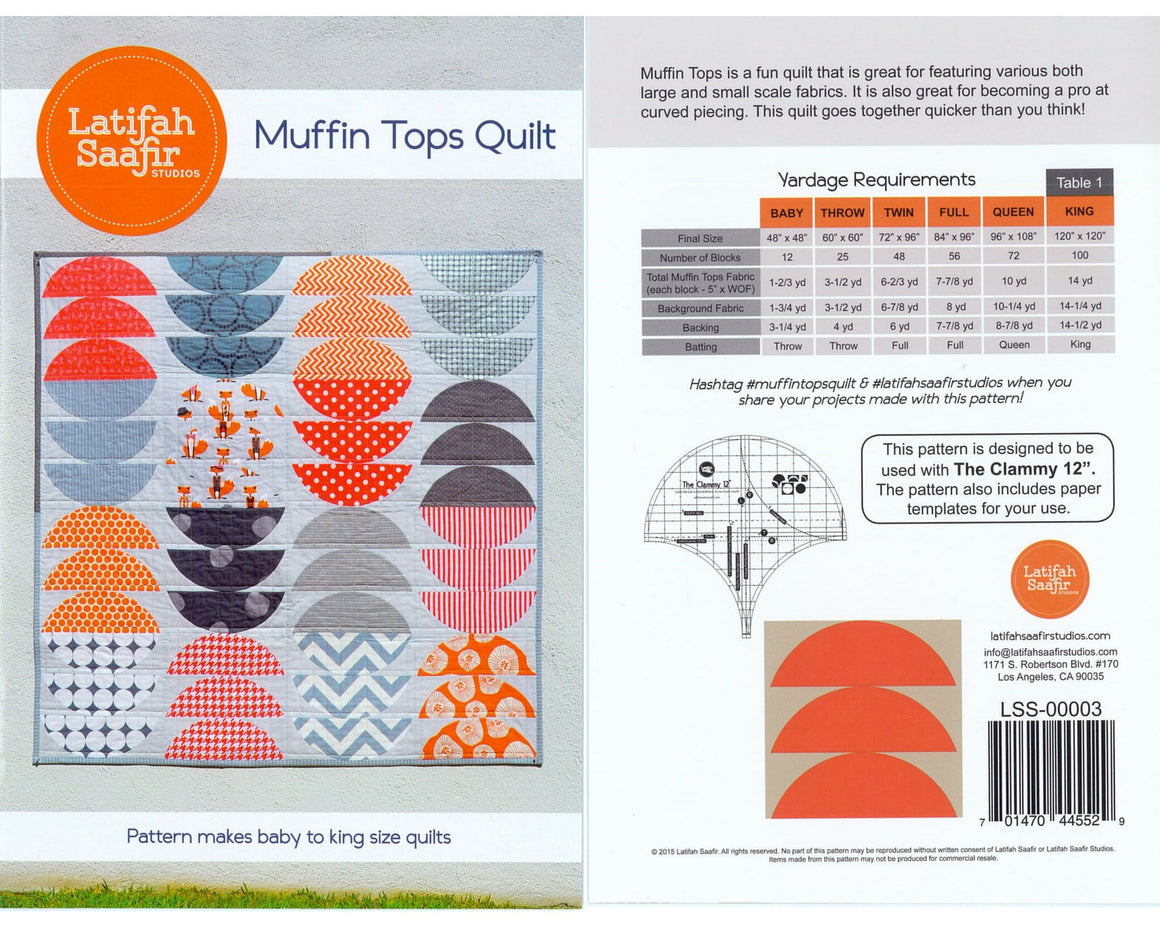 Latifah Saafir Muffin Tops Pattern