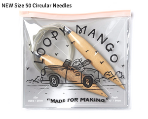 NEW Loopy Mango Size 50 Needles in Case