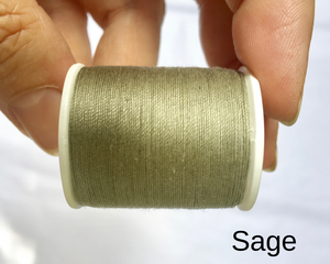 Sage Alabama Chanin Button Craft Thread