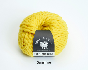 Loopy mango merino no5 yellow