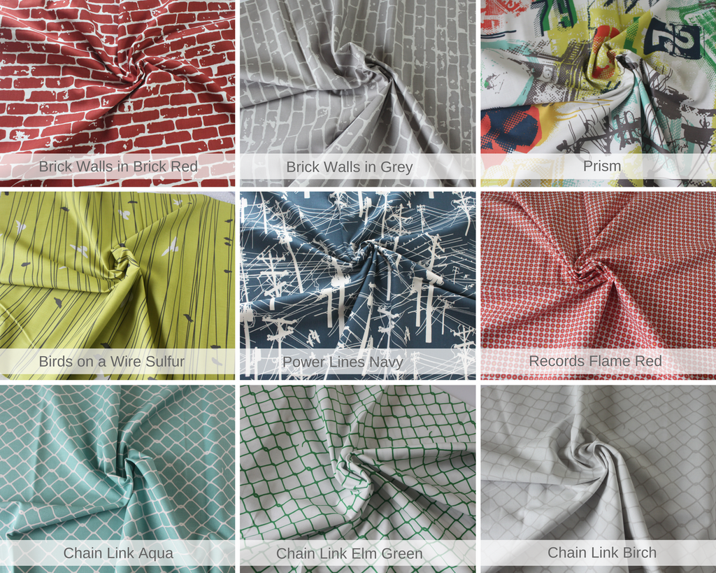 Fabric Bundle 'Grafic' 100% Cotton