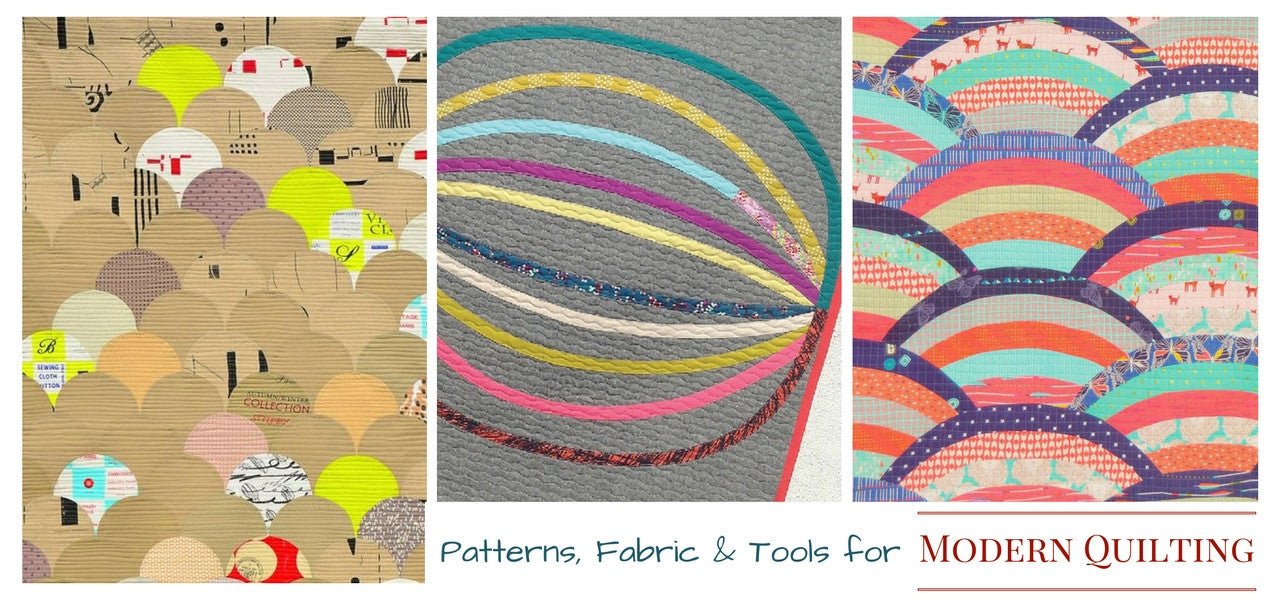 Click through to Modern Quilting Patterns
