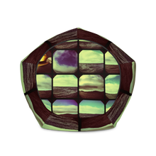 Load image into Gallery viewer, KALEIDOSCOPIO All-Over Print Bean Bag Chair w/ filling