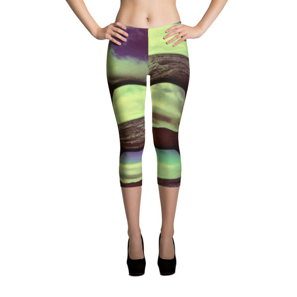 KALEIDOSCOPIO Capri Leggings