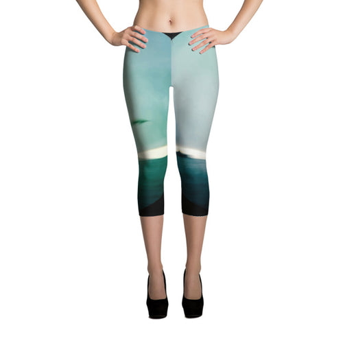 ZERUMUGA #2 Capri Leggings