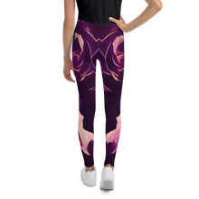 Load image into Gallery viewer, MALBA KOLORE PURPLE FRISE Leggings