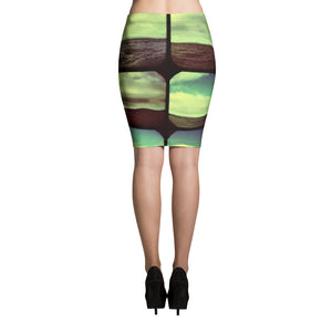 KALEIDOSCOPIO Pencil Skirt