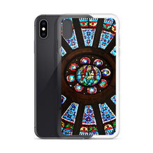 Load image into Gallery viewer, ROSACE VITRAIL Cathédrale Notre-Dame IPhone Case