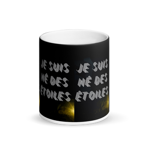 ARTIZARO NÉ DES ÉTOILES Matte Black Magic Mug