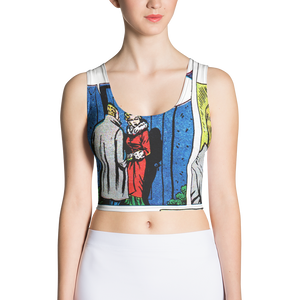 LET'S KISS VINTAGE ROMANCE Crop Top