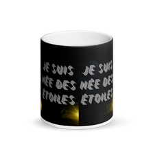 Load image into Gallery viewer, IZARA NÉE DES ÉTOILES Matte Black Magic Mug