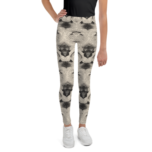 ARROSA ZURI WHITE ROSES Leggings