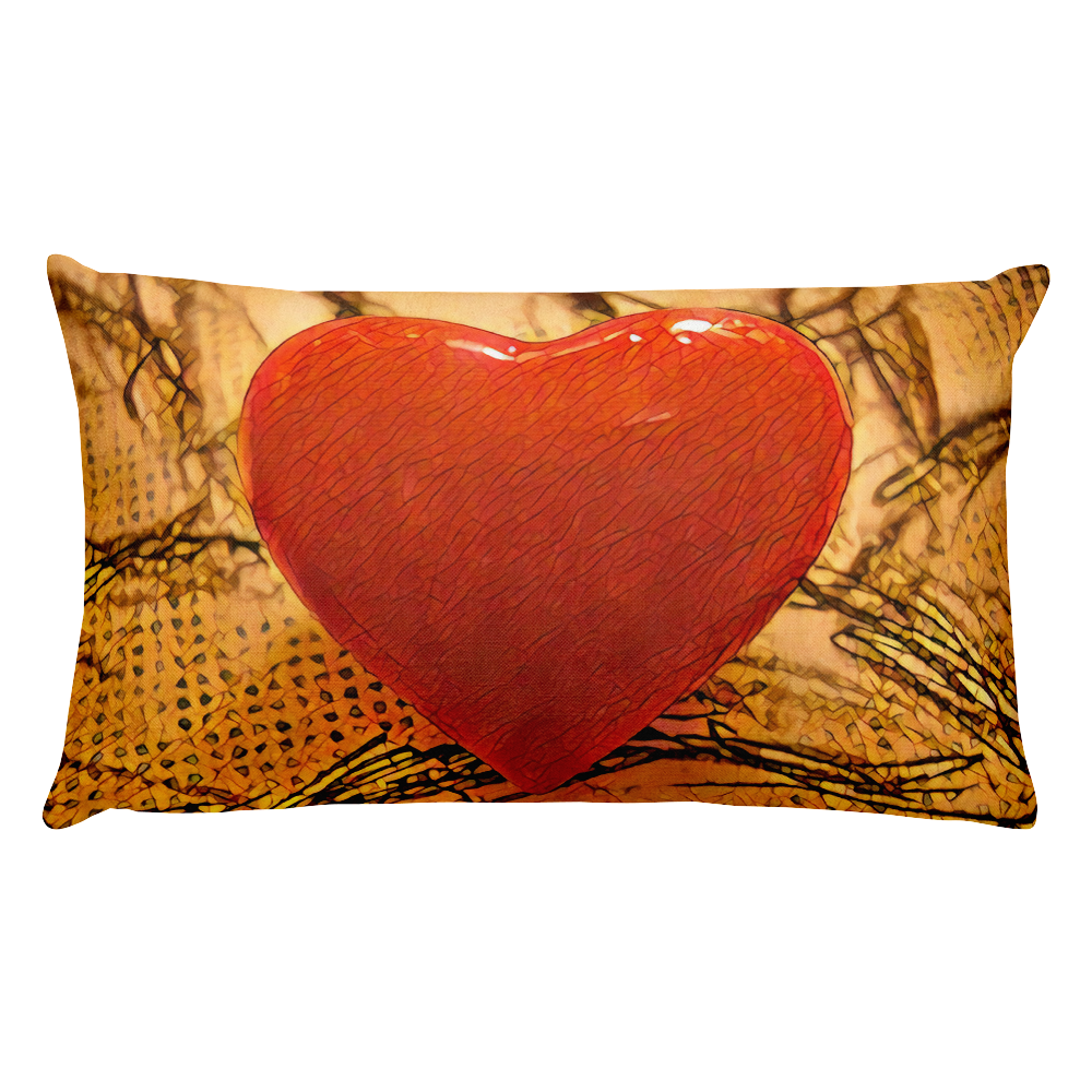 HEART ME! Je t'aime un peu beaucoup Premium Pillow