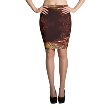 Load image into Gallery viewer, AINARA HIRONDELLE Pencil Skirt