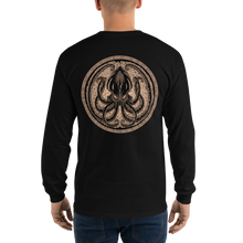 Load image into Gallery viewer, Men's Long Sleeve Shirt Sepia KRAKEN
