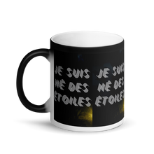 Load image into Gallery viewer, ARTIZARO NÉ DES ÉTOILES Matte Black Magic Mug