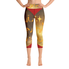 Load image into Gallery viewer, IZAR NÉE DES ÉTOILES Yoga Capri Leggings