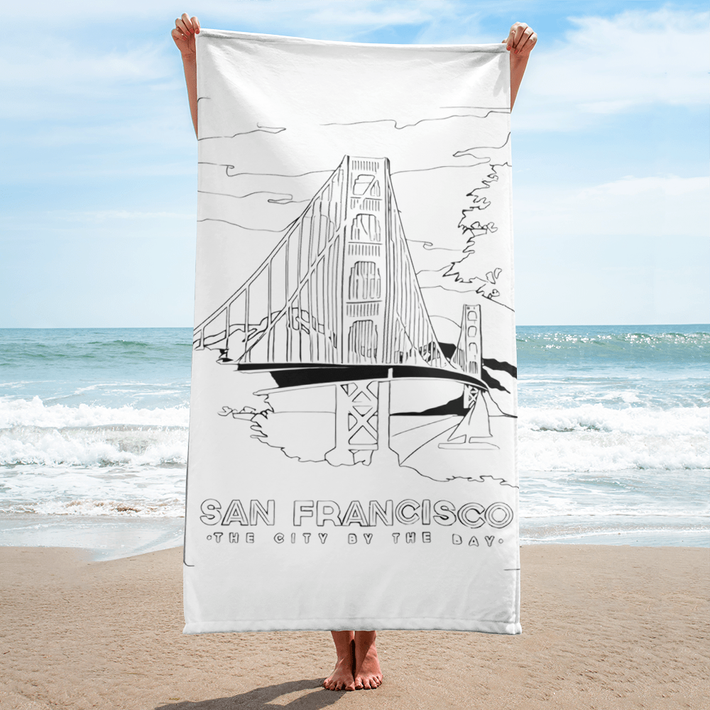 ZUBI GOLDEN GATE BRIDGE Towel