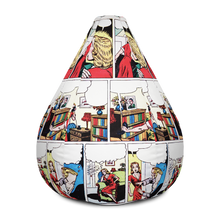 Load image into Gallery viewer, MAITARI AMOUREUX All-Over Print Bean Bag Chair w/ filling