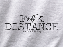 F*#k Distance - Ladies Cut Crew Neck Short Sleeve T-Shirt