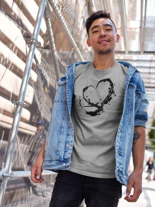 Heart One Day, One Way - Unisex Short Sleeve T-Shirt