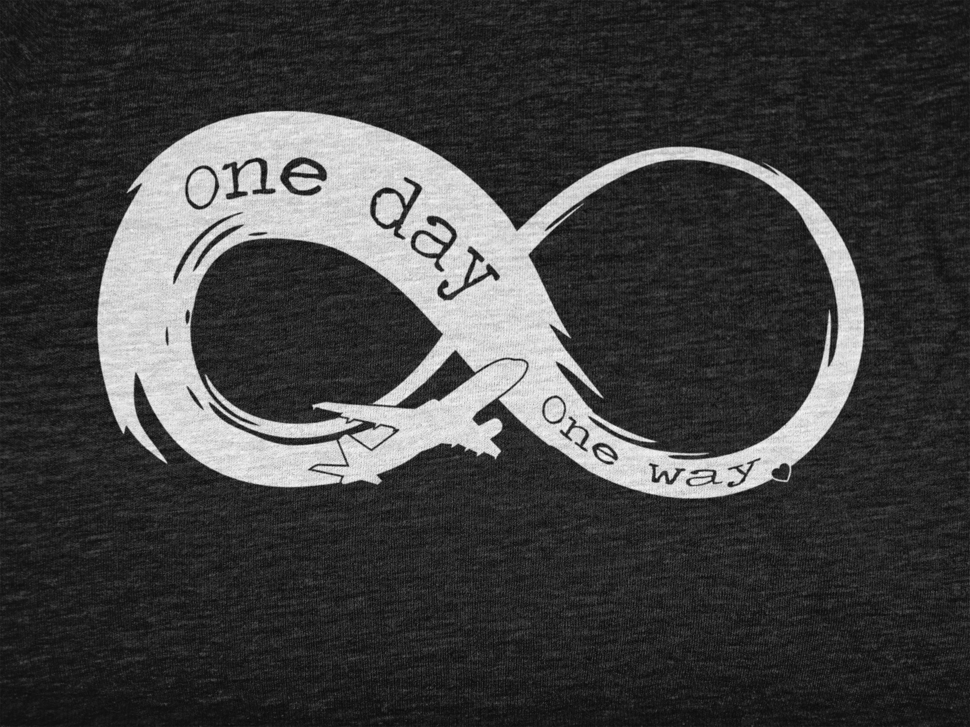 Infinity - One Day, One Way - Unisex Hoodie