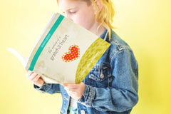 Children's Journal with writing prompts The Making of a Grateful Heart