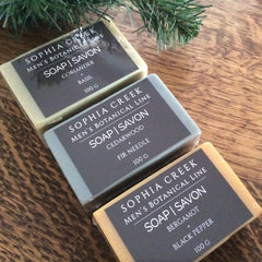 Handmade Soap for Men