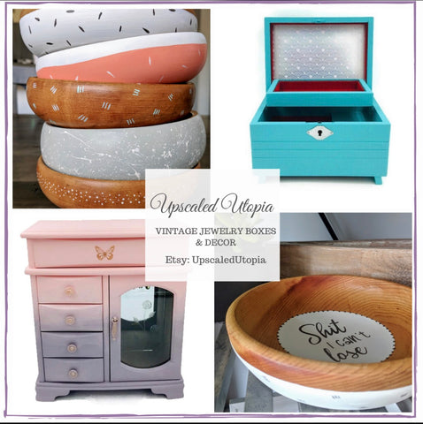 Custom Jewelry Boxes by Upscaled Utopia