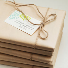 Daily self care guided journals gift wrapped by Journals of Discovery