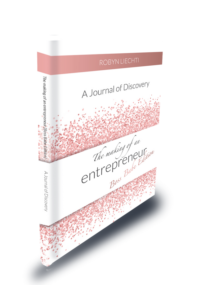 The Making of an Entrepreneur - Boss Babe Edition - Journals of Discovery | Guided Keepsake Journals