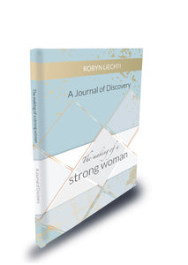 Daily guided self care journal and prompts for women The Making of a Strong Woman by Journals of Discovery