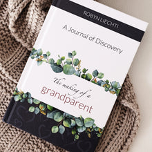 Grandparent memory and keepsake book with questions in The Making of a Grandparent journal by Journals of Discovery