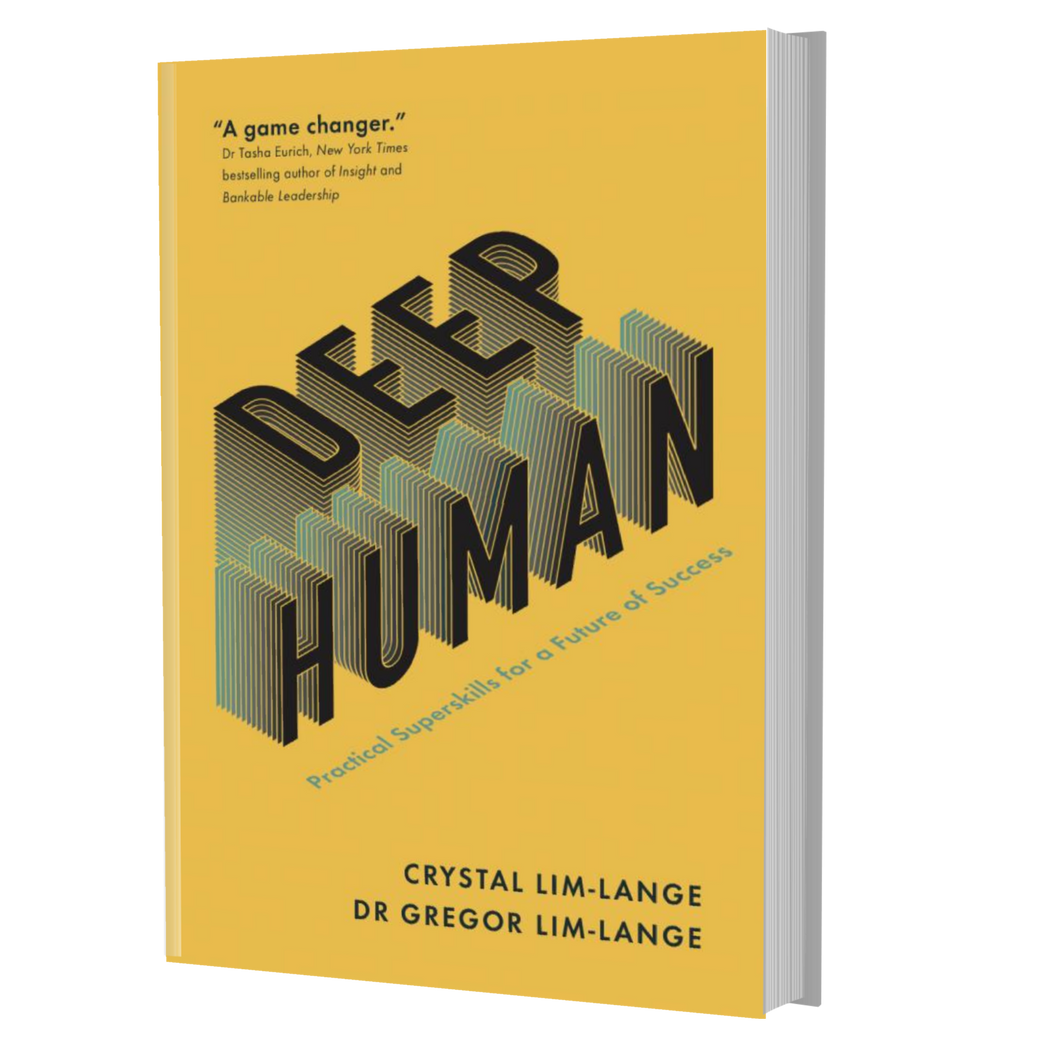 Deep Human Paperback Book *Option to have Signed copies