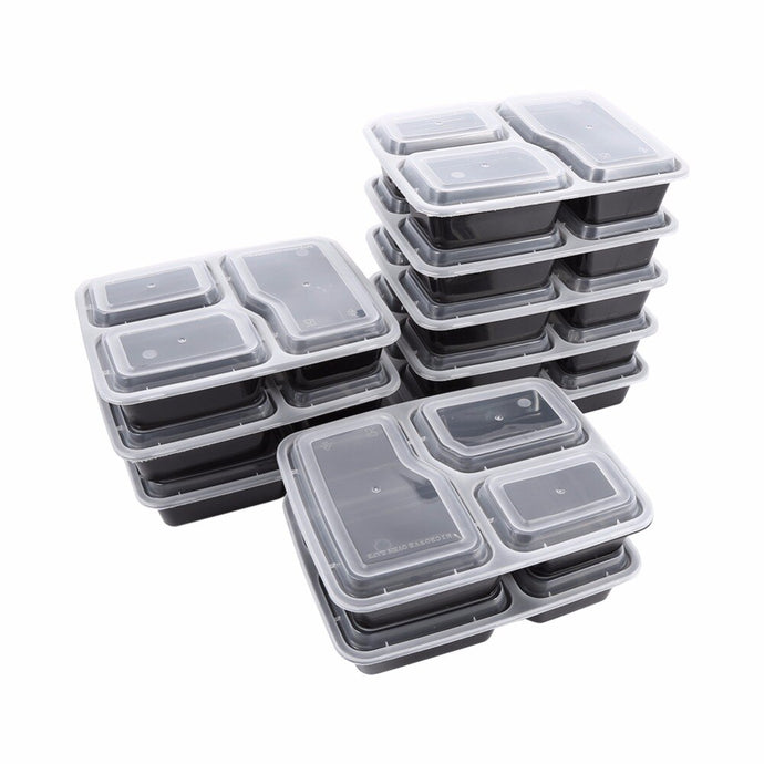 10 Pcs Meal Prep Containers