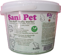 SaniPet- Eliminates cat litter tray smells