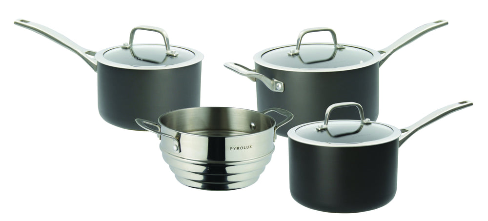Pyrolux Induction HA+ Saucepan 4pc set 16/18/20cm
