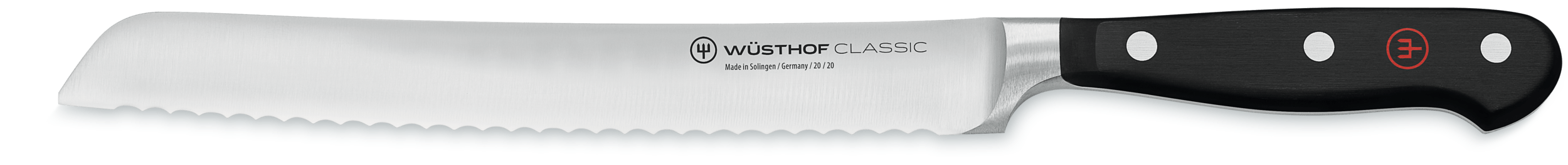 New Wüsthof Classic 3-piece Bread Knife Set 1120160304