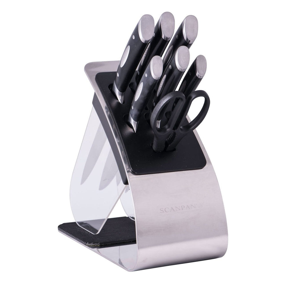 Scanpan Classic 8 Piece Eclipse Knife Block Set