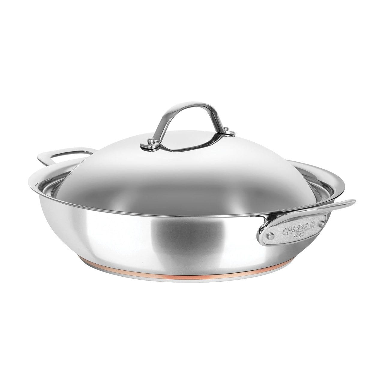 Chasseur Le Cuivre 32cm/5.6L Chef Pan with 2 Side Handles