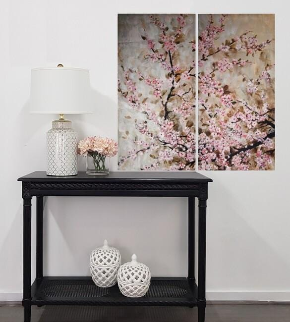 Load image into Gallery viewer, Pink Blossom Wall Art