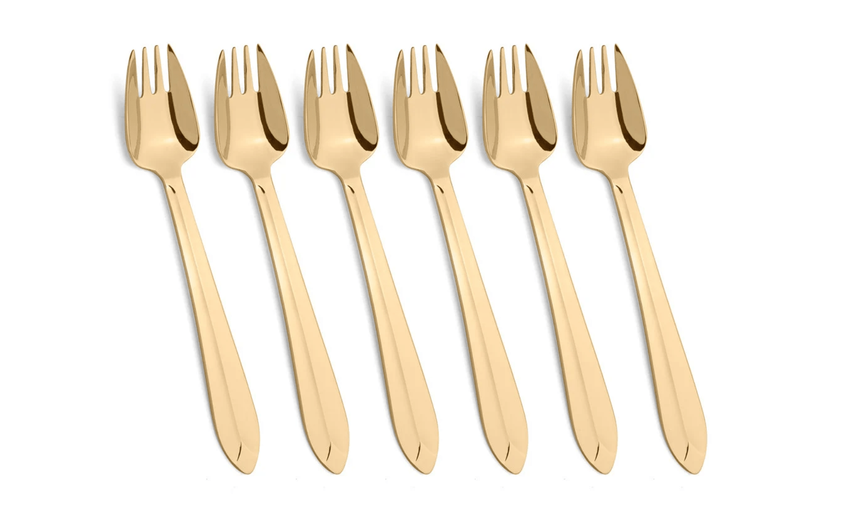Splayd Gold Plated Set of 6 - Bronx Homewares