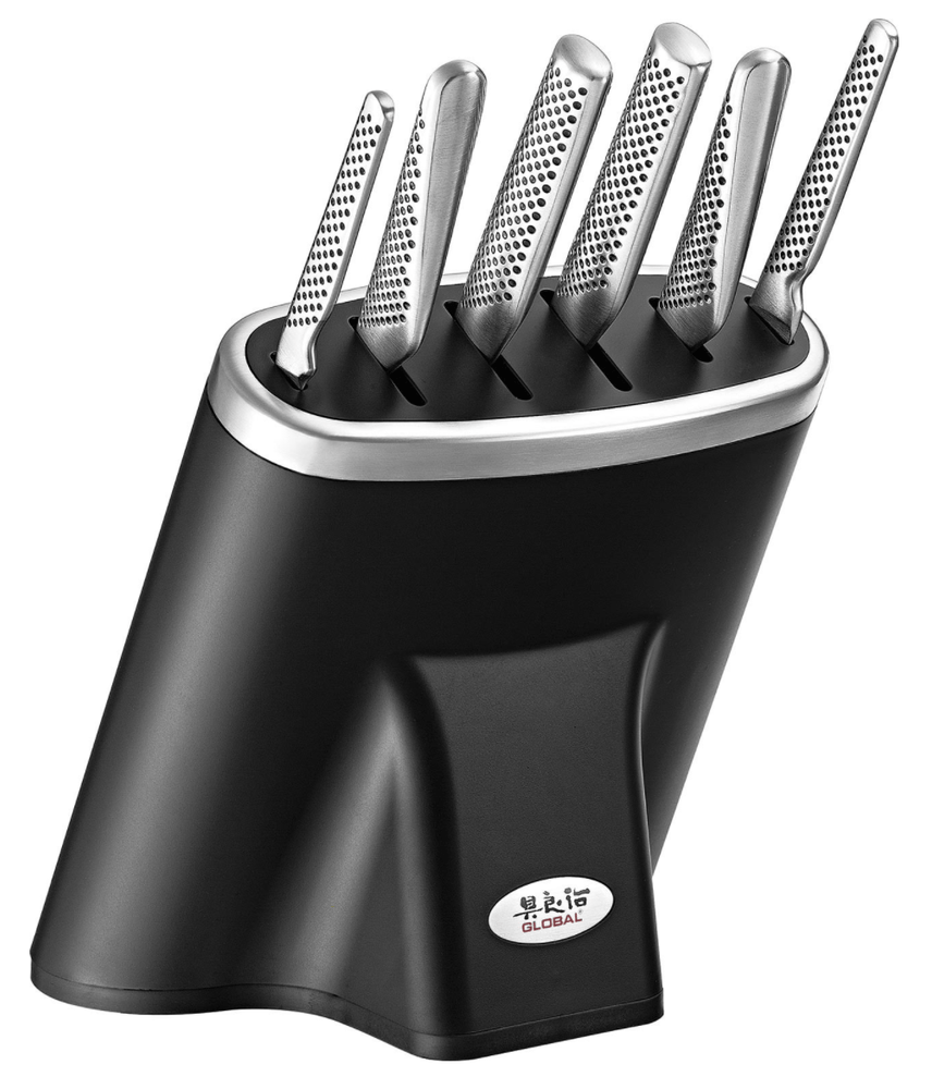 Global Zeitaku 7 Piece Knife Block Set