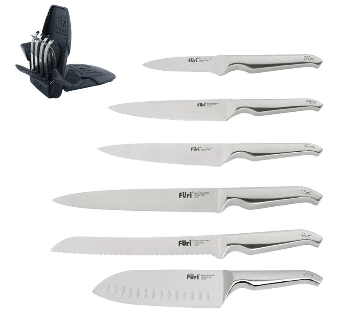 Furi Pro Vault Knife Block Set 8 Piece