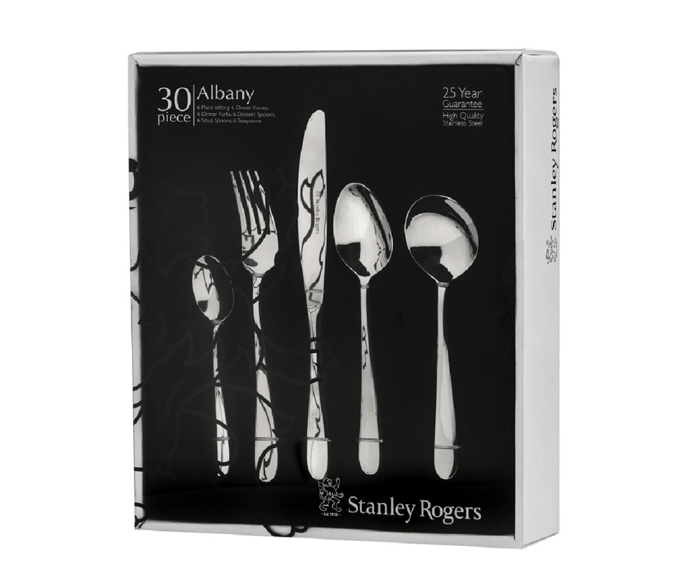 Load image into Gallery viewer, Stanley Rogers 30 Piece Albany Cutlery Gift Boxed Set