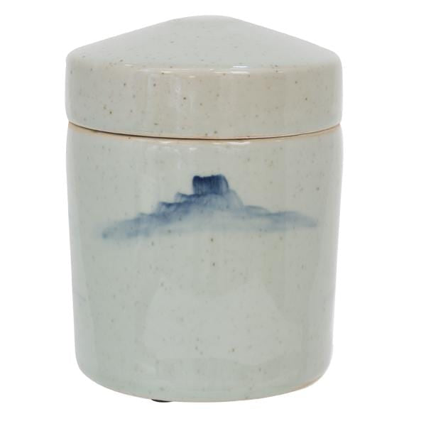 Load image into Gallery viewer, 4 Cumulus Lidded Jar Small