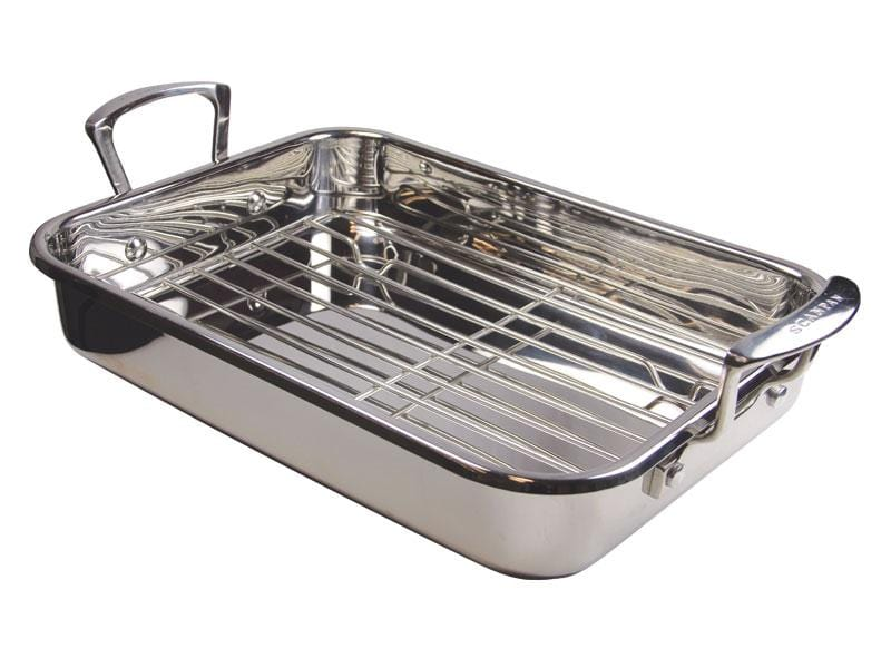 Scanpan Impact Induction 42X26cm Roaster With Rack - Bronx Homewares