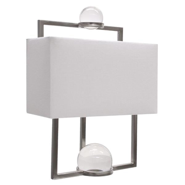 Harper Metal Glass Wall Lamp on Special